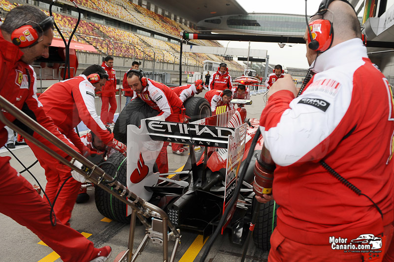 Gran Premio de F1 de China 2010