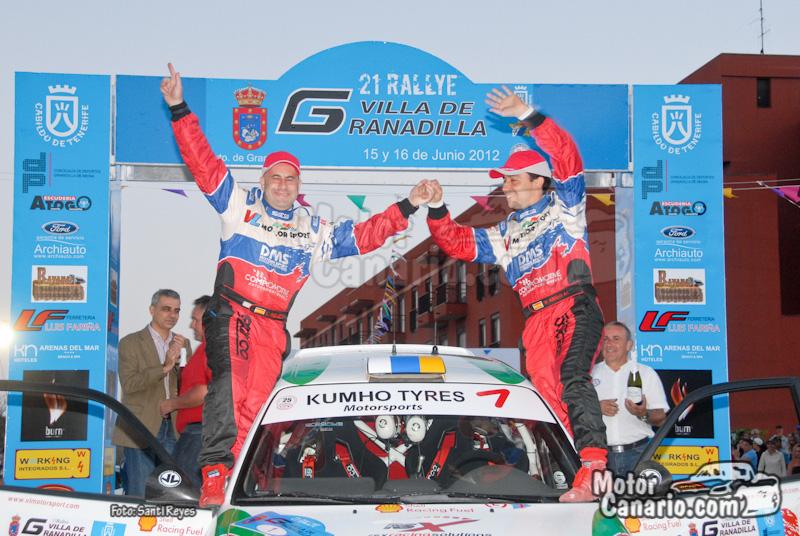 21º Rallye Villa de Granadilla 2012 (Parte 3)