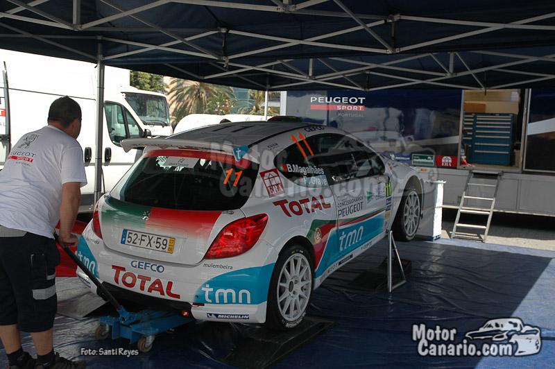 Rally Islas Canarias (Presentación Ford y Verificaciones)