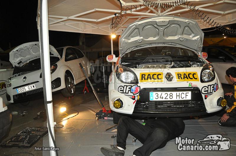 IRC Rallye Islas Canarias 2011 (Parque de Trabajo)