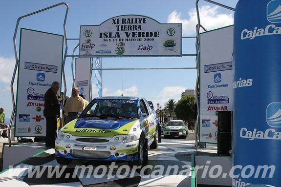 Rallye de Tierra La Palma Isla Verda