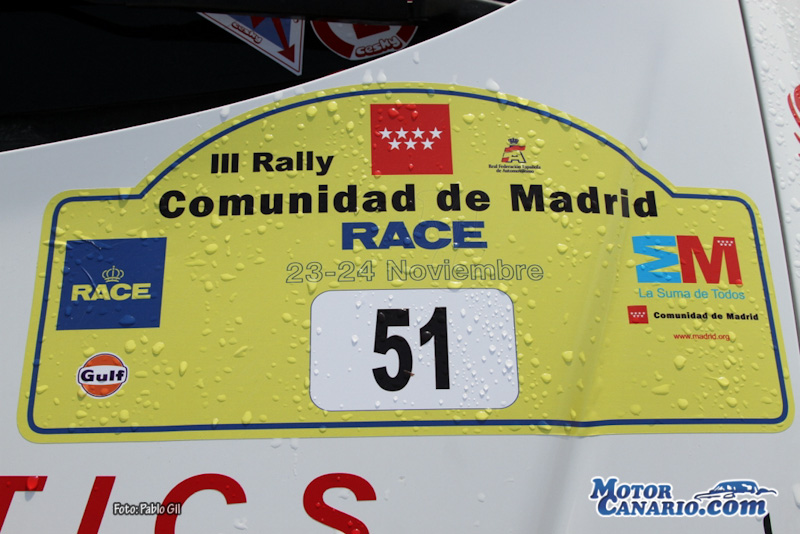 III Rally Comunidad de Madrid RACE 2012