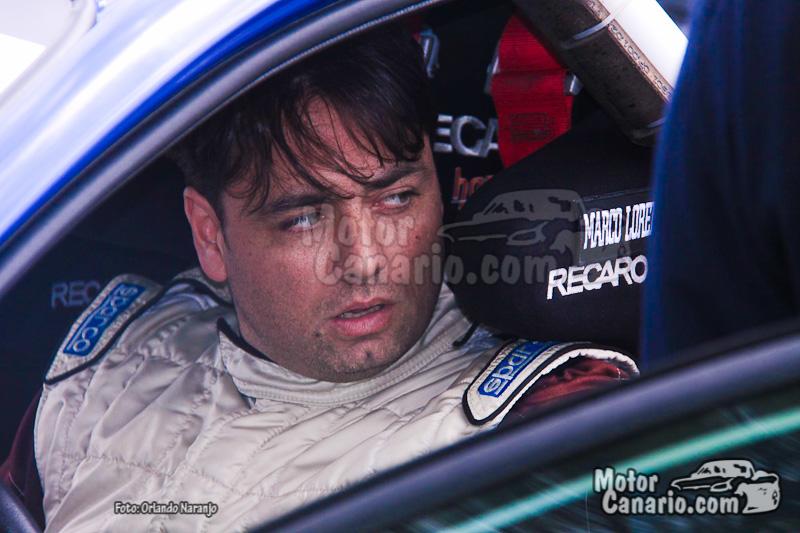 Test pretemporada equipo Copi Sport - Alfonso Viera (Porsche 911 GT3) y Marco Lorenzo (Ford Focus WRC)