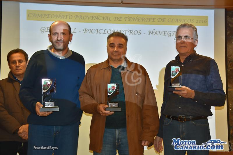 Entrega Trofeos Clásicos de Tenerife 2016
