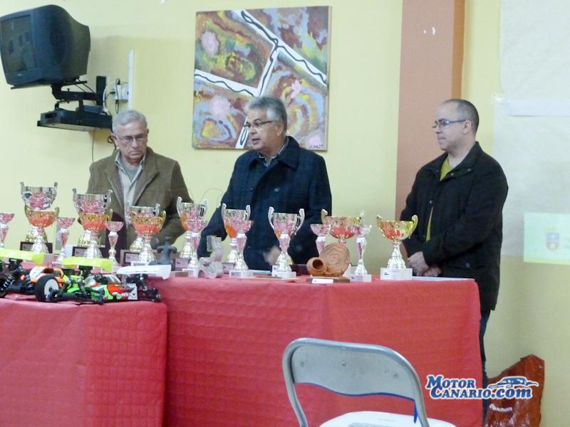 Entrega de Trofeos Radiocontrol Provincial Las Palmas 1/8 TT GAS 2013