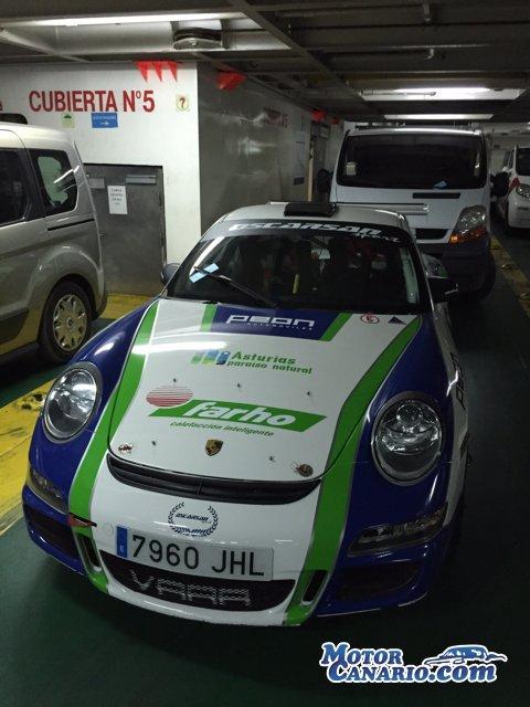 Llega a Tenerife el Porsche de Pegrutrans.