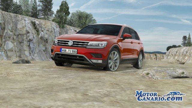 Contacto con el nuevo Volkswagen Tiguan: próximo a la perfección.