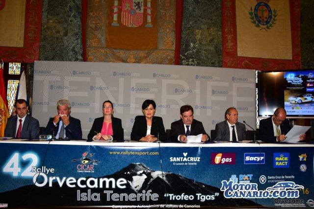 Presentado el Rallye Isla de Tenerife.