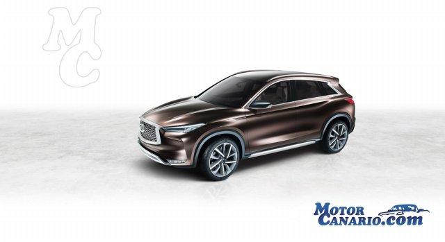 Infiniti QX50 Concept: así serán los SUV del futuro.