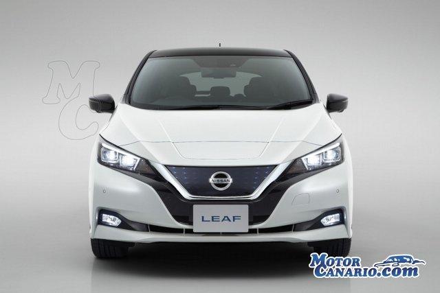 Así es el nuevo Nissan Leaf.