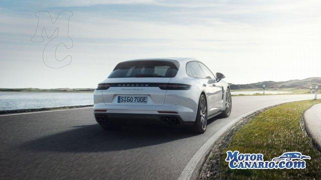 Fuerza bruta en el nuevo Porsche Panamera Turbo S E-Hybrid.