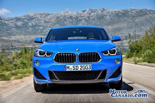 Nuevo BMW X2, ¡más madera!