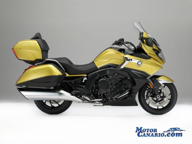 BMW lanza scooter C 400 X, touring K 1600 Grand America y enduro GS 750 y 850.