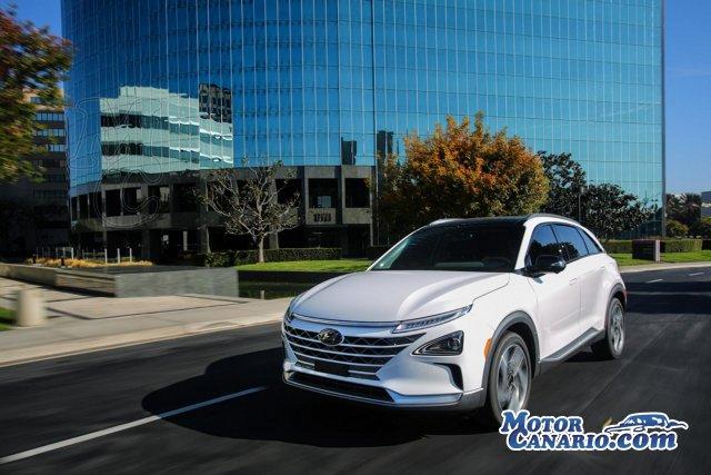 Hyundai Nexo: de hidrógeno y con IoT.