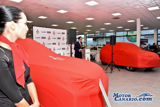 Icamotor estrena instalaciones en Tenerife y presenta el nuevo Mitsubishi Eclipse Cross.