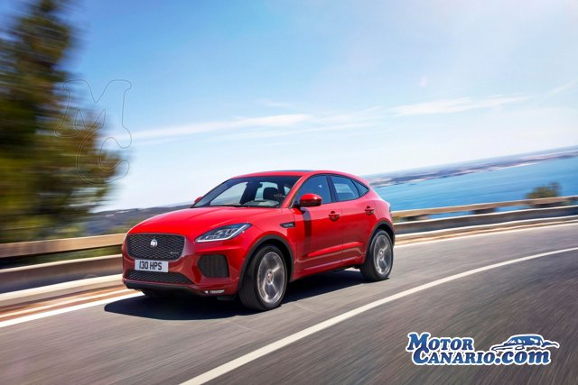 Elegancia y distinción en el nuevo SUV de Jaguar: el E-Pace.