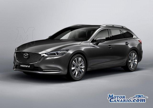 El nuevo Mazda6 será el centro de atención de la marca en Ginebra.