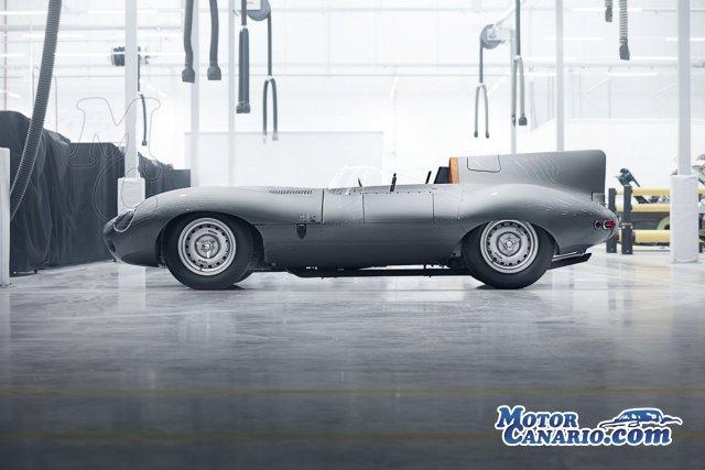 Jaguar reanuda la producción artesanal del D-Type.