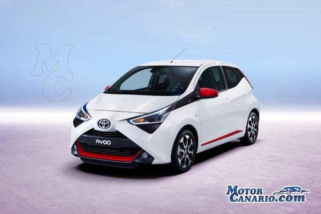 El nuevo Toyota Aygo se mostrará en Ginebra.