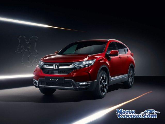 El nuevo Honda CR-V incluirá versión híbrida.