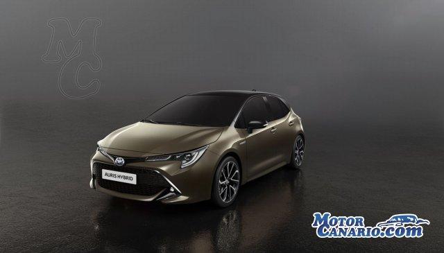 Así es el nuevo y espectacular Toyota Auris.