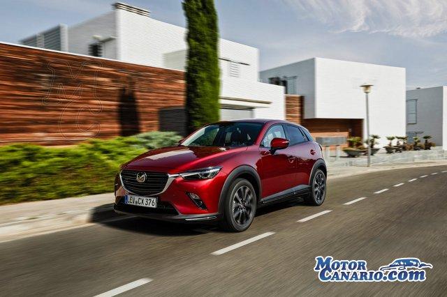 Mazda lanza un renovado y atractivo CX-3.