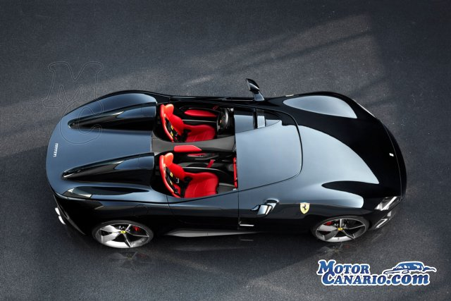 Ferrari `matricula sus F1` encarnados en los SP1 y SP2.