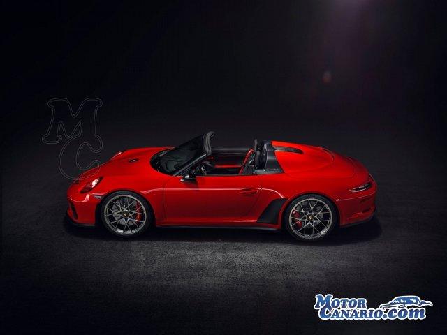 Porsche fabricará 1948 unidades del 911 Speedster.