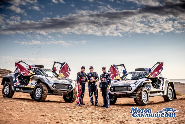 Carlos Sainz correrá con Mini el Dakar 2019.