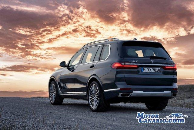 BMW se adentra en el terreno de los SUV `mastodónticos