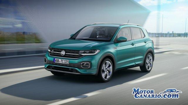Volkswagen presentó el nuevo T-Cross.