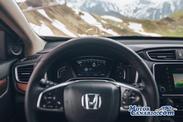 Prueba del Honda CR-V 1.5 VTEC: apuntando a la cima.