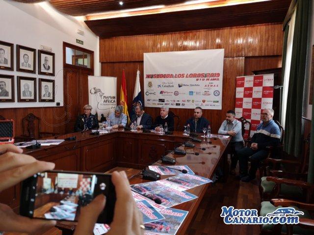 Lista Oficial de Inscritos y presentación de la Subida Los Loros.