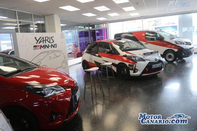 Toyota Canarias regresa a los rallyes apoyando la participación del Yaris GRMN.