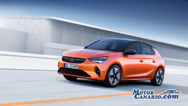 Opel Corsa-e: el primer eléctrico de la marca.