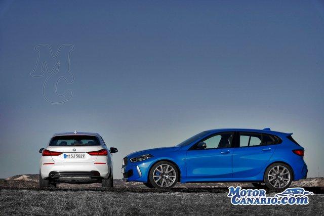 BMW desvela las imágenes y características del nuevo Serie 1.