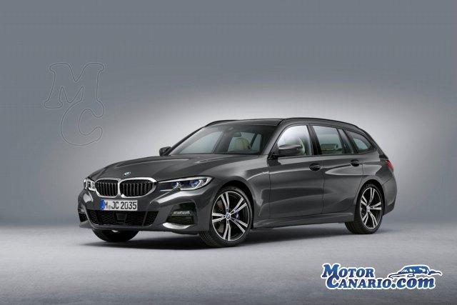 BMW desvela su nuevo Serie 3 Touring.