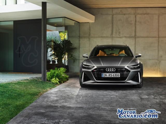 Audi adelanta el diseño del nuevo RS6, que lanzará en 2020.