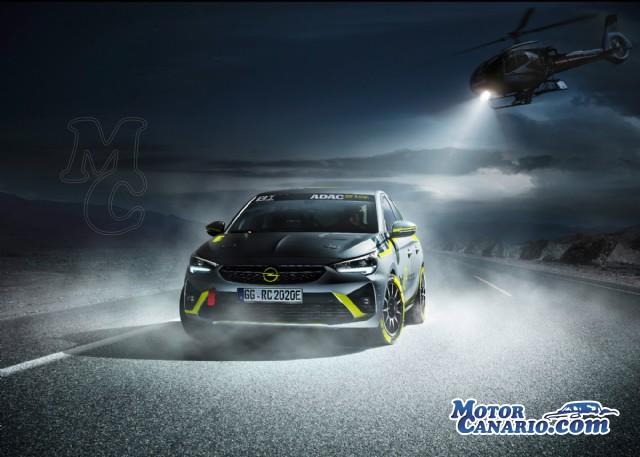 Opel desarrolla el Corsa eléctrico para rallyes.