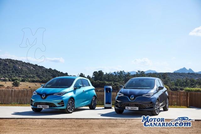 Renault lanza la `tercera` generación del eléctrico Zoe.