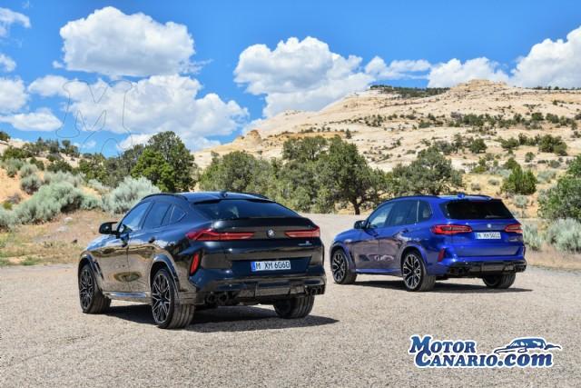 BMW lanza los nuevos X5 M y X6 M.