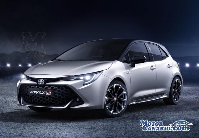 El nuevo Corolla también se deportiviza con el acabado GR-Sport.