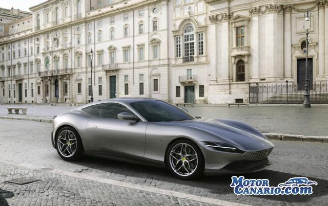 Ferrari plasma en el nuevo Roma la etapa contemporánea de la ciudad.