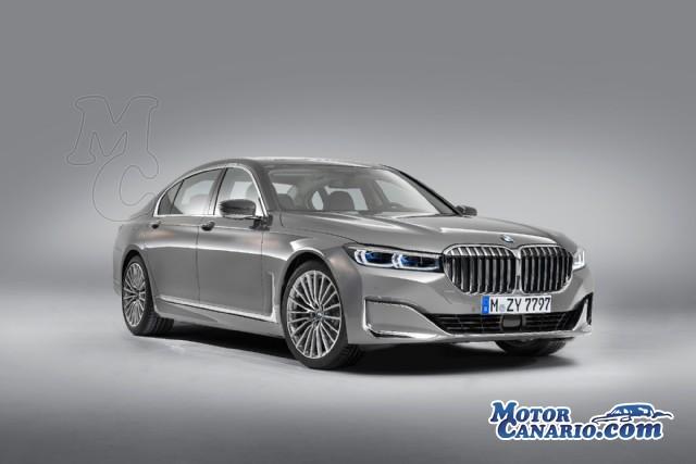 El próximo Serie 7 de BMW contará con 4 tipos de propulsores.