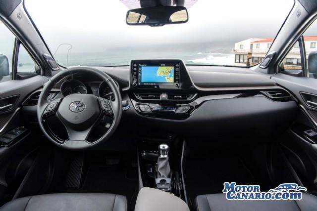 Prueba del Toyota C-HR Hybrid 2020: puliendo el diamante de la categoría.