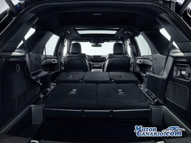 Ford prepara la versión híbrida del Explorer para 2021.