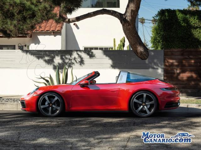 Porsche lanza la versión Targa del nuevo 911.