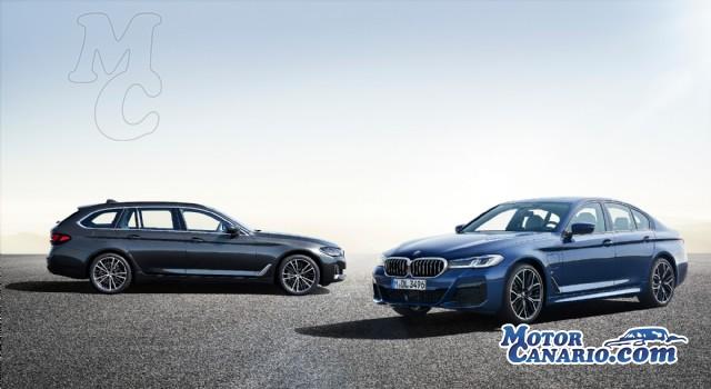 Eficiencia y acierto en el nuevo BMW Serie 5.