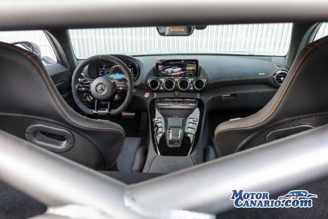 El Mercedes más brutal que puedes comprarte: AMG GT Black Series.