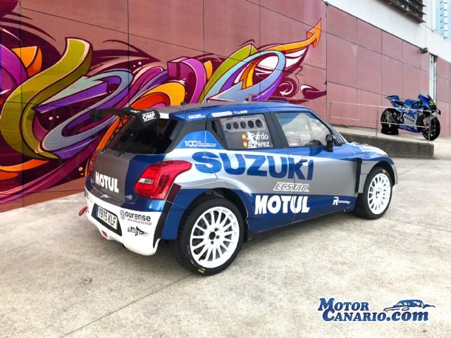 Javier Pardo y Joan Vinyes correrán el Islas y Madrid con los colores de MotoGP en sus Suzuki.